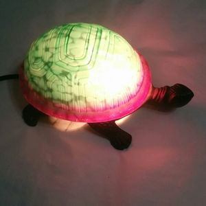 Other - Turtle Stained Glass Style Lamp Light Nightlight B